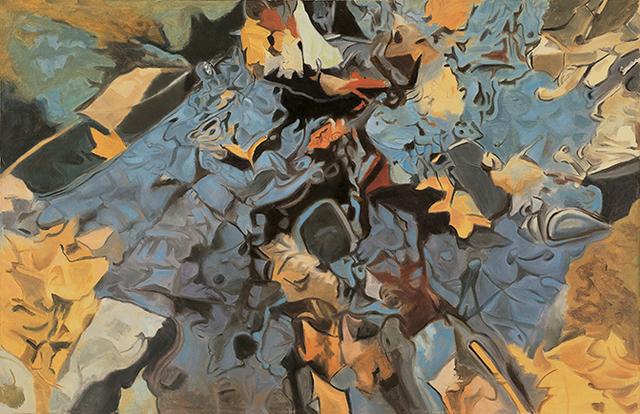 Ralph Wickiser, 'The Blue Rock', 1984, Walter Wickiser Gallery