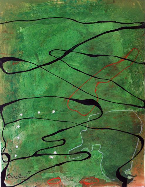 , 'Green-Green 6,' 2014, Matthew Liu Fine Arts