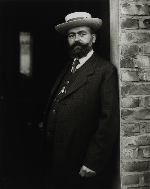 August Sander, 'Headmaster', 1910, Galerie Julian Sander
