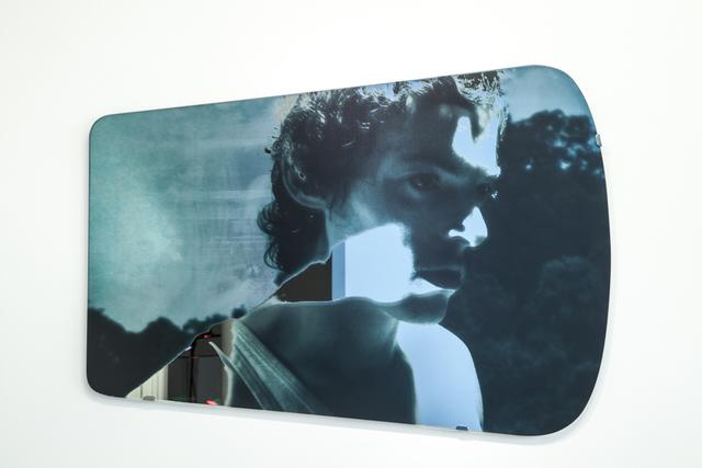 , 'Les miroirs éblouis - L'homme disparu,' 2014, Galerie Christophe Gaillard