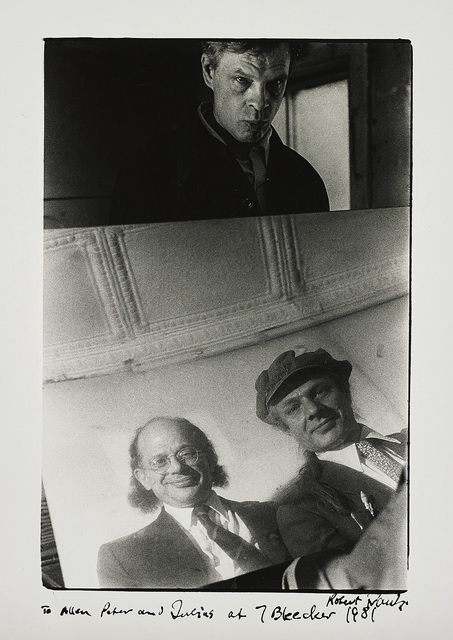 Robert Frank, 'Allen Ginsberg with Peter and Julius Orlovsky', 1981, Phillips