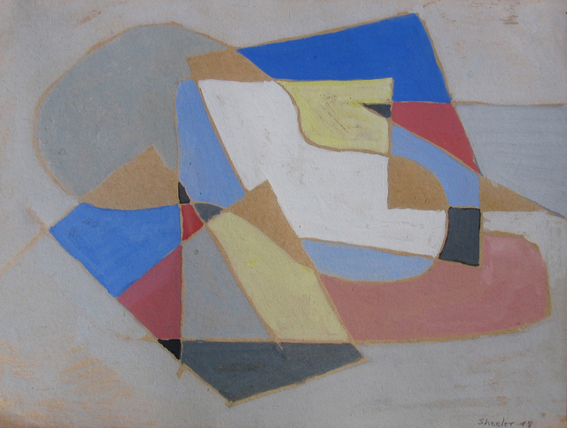 , 'Abstraction,' 1948, Caldwell Gallery Hudson
