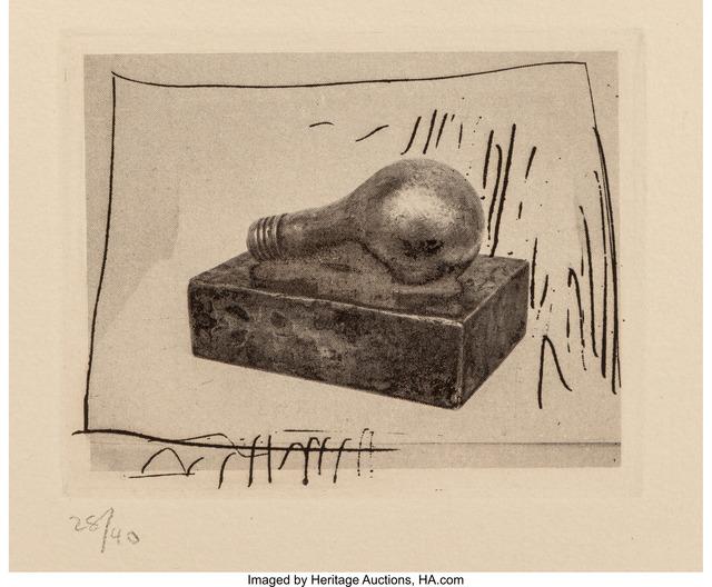 Light Bulb Jasper Johns