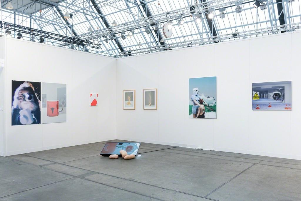 Installation view at Code Art Fair, Annka Kultys Gallery booth, Copenhagen 2018