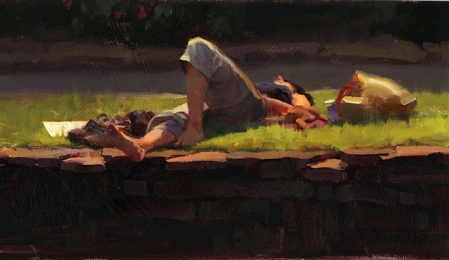Kim English, 'Summer Repose', 2021, Painting, Oil, Abend Gallery