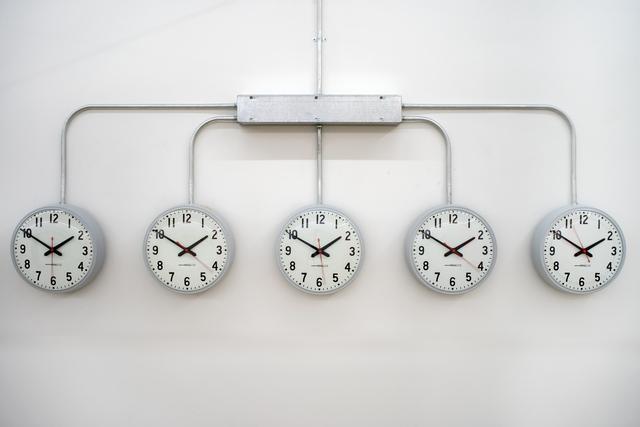 , 'National times (Power-line installation),' 2016, Barro