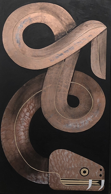 , 'Copper Moräne,' 2015, Galerie SOON