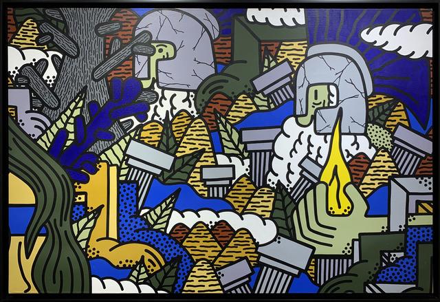 POES, 'APRES PROMETHEE', 2016, Happy Gallery