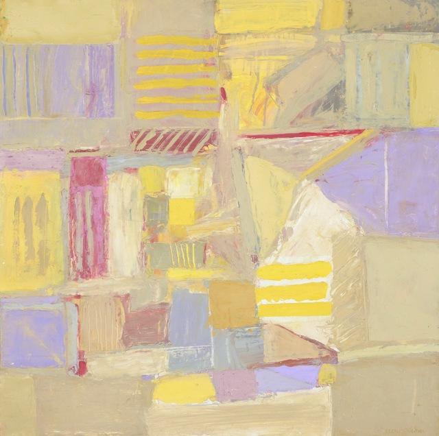 , 'Interlocking I,' 2019, James May Gallery