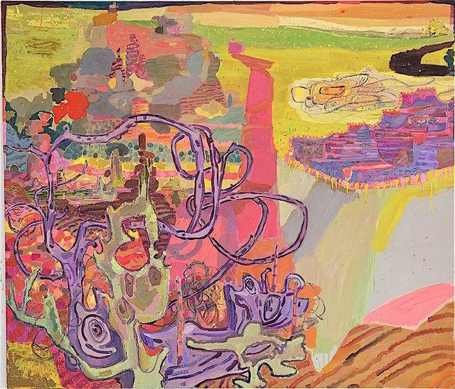 , 'Southern Border Pink,' 2016, Jonathan Ferrara Gallery