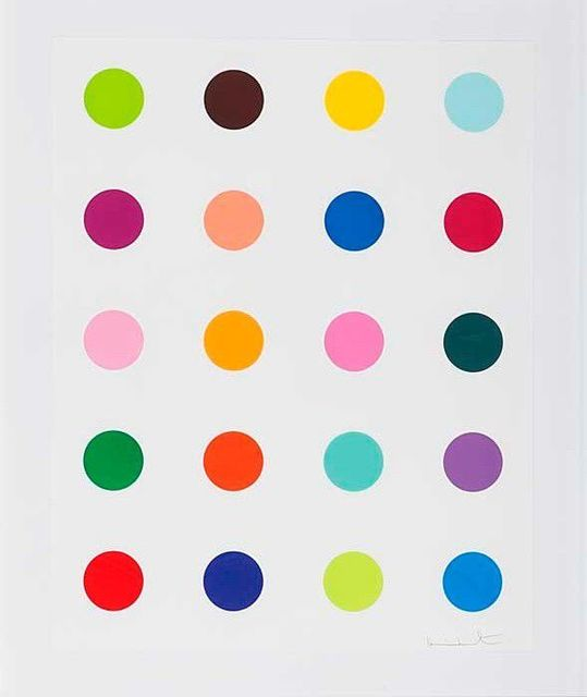 Damien Hirst, 'Guaiazulene', 2010, Taglialatella Galleries