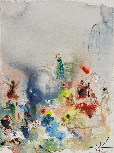 , 'Fantaisie orientale fond de nuages et portail (One Thousand and One Nights),' 1965, Martin Lawrence Galleries