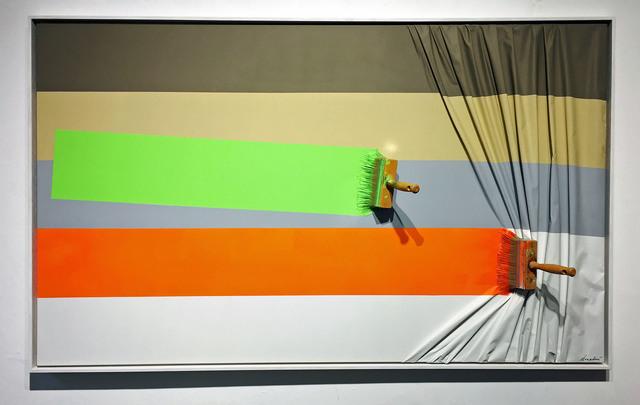 , '2 Brosses Arrêtées Orange et Verte,' , Galerie Vivendi
