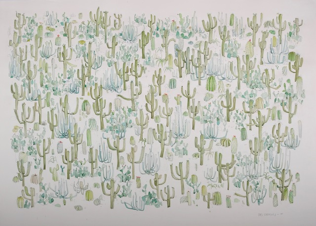 , 'Cactus Patch,' 2015, Kopeikin Gallery