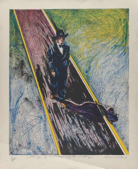 Clift Condate, 'Jiggs and Annie and Study of Truman Capote Walking (two works)', 1979, Heritage Auctions