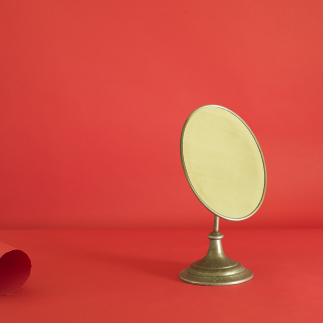 , 'Red Mirror #1,' 2018, James Barron Art