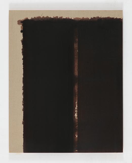 , 'Burnt Umber & Ultramarine Blue,' 1992, Simon Lee Gallery
