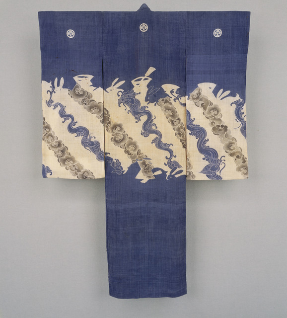 , 'Child's Kimono,' 19th century, Seattle Art Museum