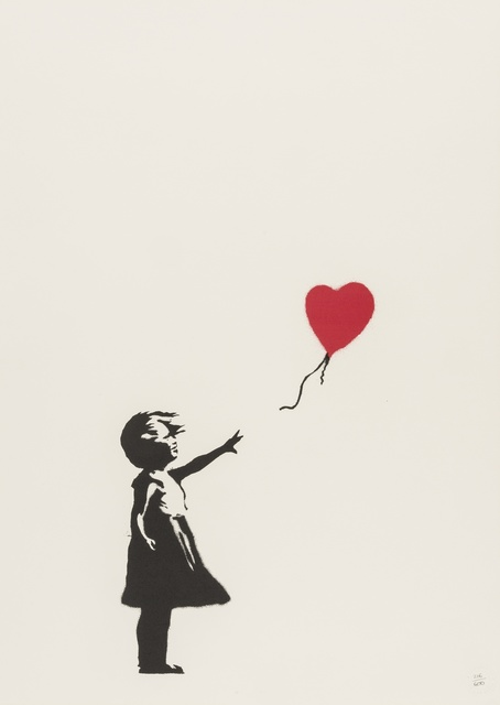 Banksy, 'Balloon Girl', 2004, Print, Screenprint in colours on wove paper, Forum Auctions