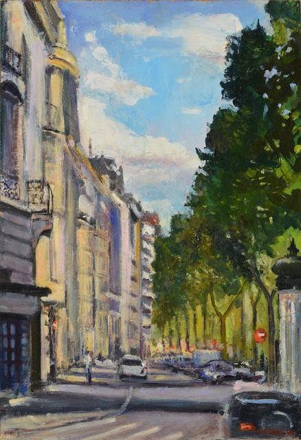 , 'Street in Paris,' 2014, Madelyn Jordon Fine Art