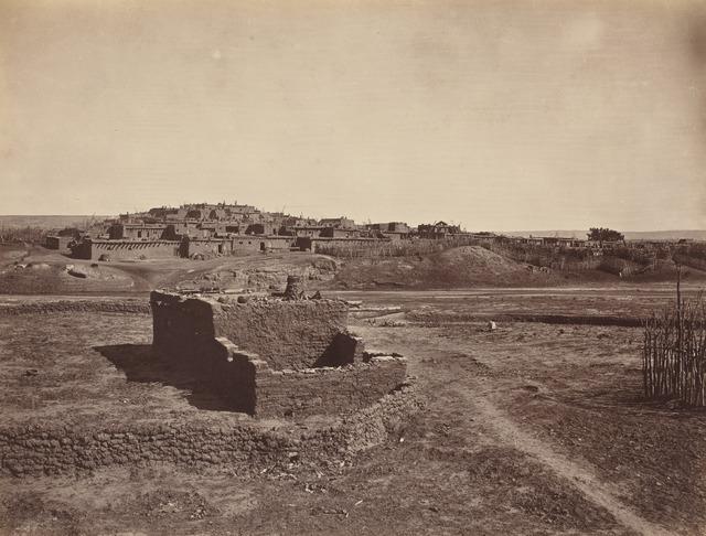 John K. Hillers, 'Zuni Pueblo', 1879, Photography, Albumen print, National Gallery of Art, Washington, D.C.