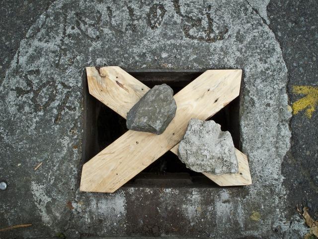 , 'Fundiciones (Todo ladrón será quemado),' 2010, No Lugar Arte Contemporáneo