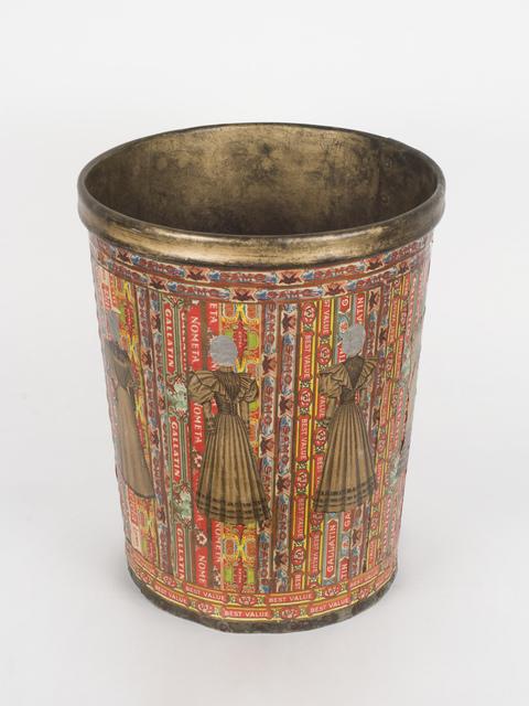 , 'Fashion Wastebasket,' 1920-1960, Fleisher/Ollman