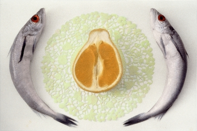 , 'Fish and Orange,' , Pucker Gallery