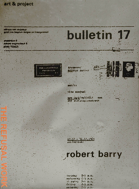 , 'The Refusal Work,' 2006, Gallery Neptune & Brown