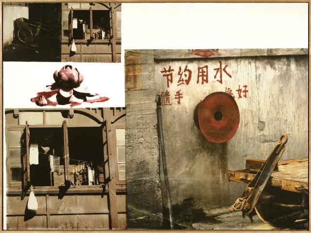 Robert Rauschenberg, 'Lotus V (The Lotus Series)', 2008, Universal Limited Art Editions