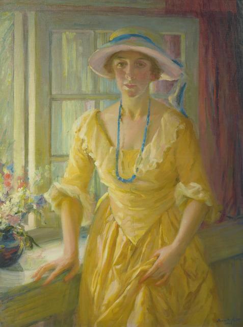 Jeannette Scott, 'The Apartment Window', 1926, Vose Galleries