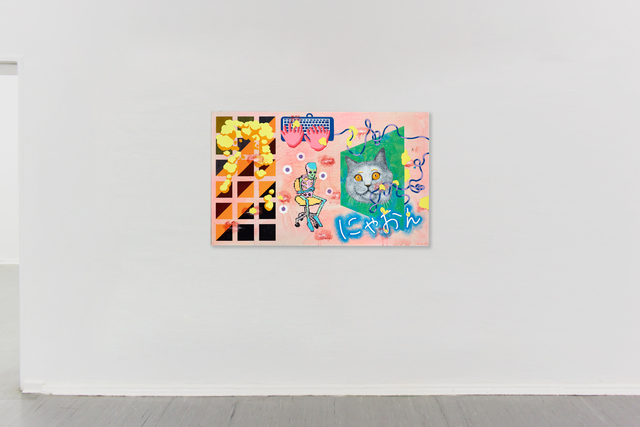 Yuko Takatsudo, 'How to work for a Cat', 2019, Painting, Acrylic on canvas,, Haimney