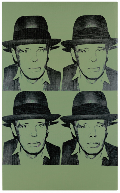 Andy Warhol, 'Portrait of Joseph Beuys', 1980, Omer Tiroche Gallery