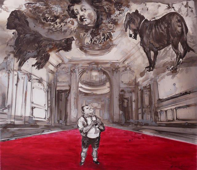 , 'Auftritt,' 2015, Joerg Heitsch Gallery