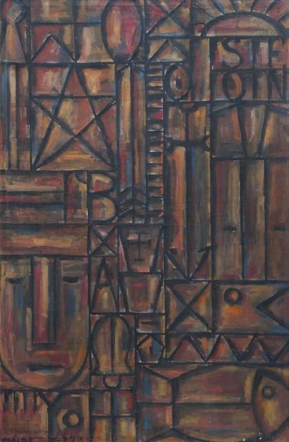 Gastón Olalde, 'Constructivo', 1954, Galería de las Misiones