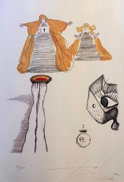 Salvador Dalí, 'Casanova table 10', 1980, Deodato Arte