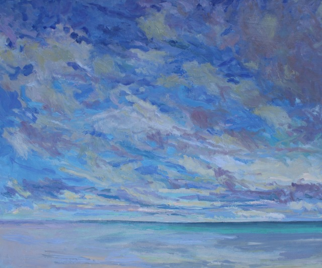 , 'Morning Clouds, Ocean,' 2018, Les Yeux du Monde Gallery
