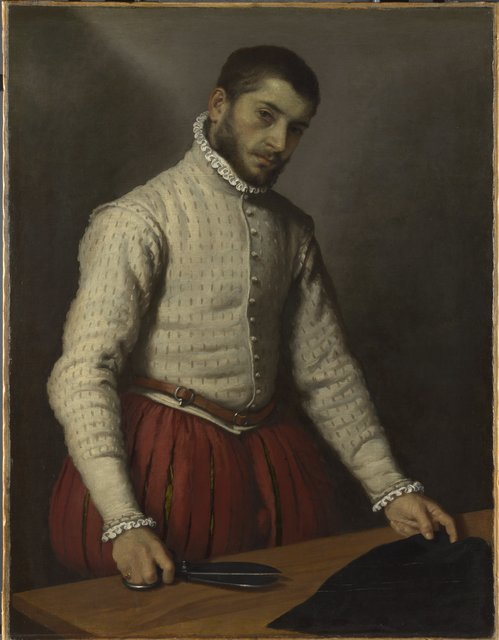 , 'The Tailor,' 1565-1570, Royal Academy of Arts