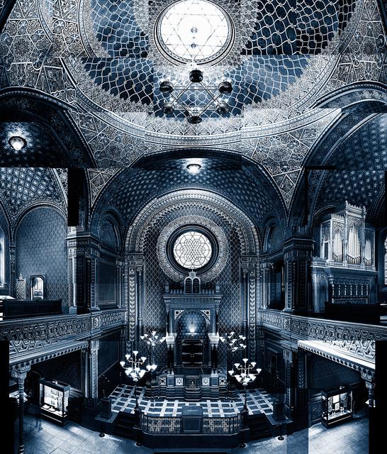 , 'Spanische Synagoge 1868 I,' 2017, Galeria Senda