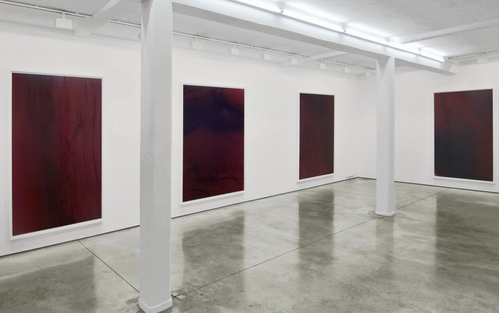truth study centre, Wolfgang Tillmans exhibition view at Maureen Paley, London 2005