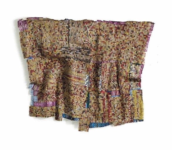 El Anatsui, 'Plot a Plan I ', Christie's