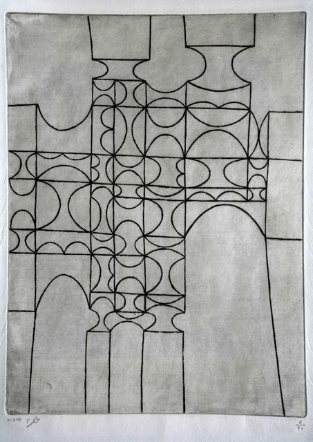 Anwar Jalal Shemza, 'City Gate', 1961, Jhaveri Contemporary