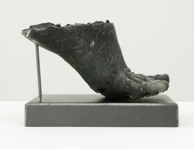 , 'Footwear (green heel),' 2015, Circuit12
