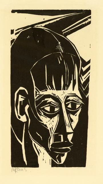 , 'Mädchenkopf,' 1919, Charles Nodrum Gallery