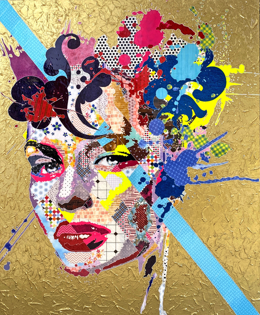 Pınar DU PRE, 'Marcella', 2020, Painting, Mixed media on canvas, Sevil Dolmacı Art Gallery