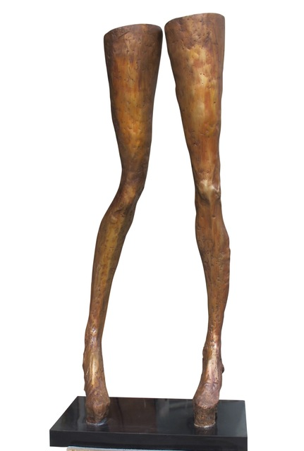 , 'Giacometti's Granddaughter as a Supermodel (large legs),' 2013, Zemack Contemporary Art
