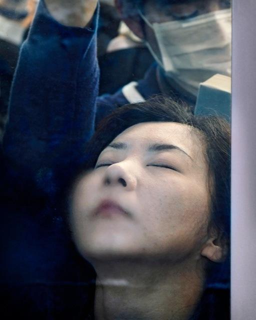 , 'Tokyo Compression # 35,' 2010-2013, Blue Lotus Gallery