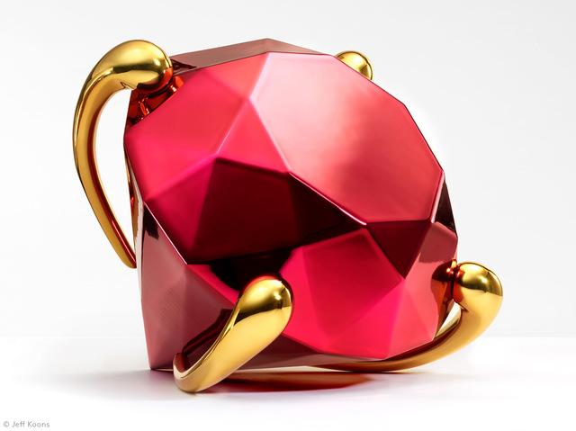 Jeff Koons, 'Diamond (Red)', 2020, Ephemera or Merchandise, French Limoges porcelain with chromatic coating, David Benrimon Fine Art