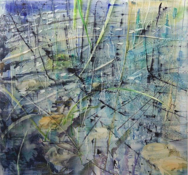 , 'Waldsee 2,' 2019, Galerie Andreas Binder