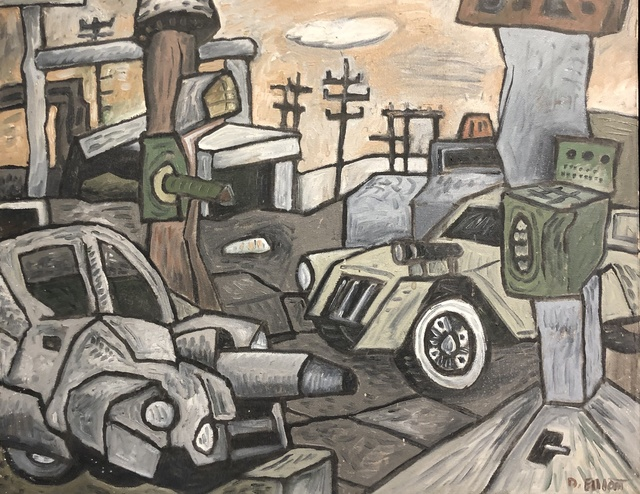 David Elliott, 'Houston War Zone', Davis Gallery & Framing